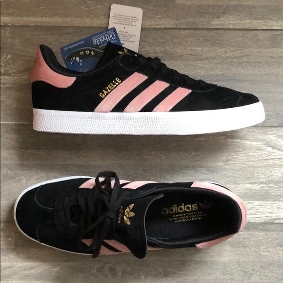 le adidas nuovo gazzella rosa nero taglia 10 poshmark